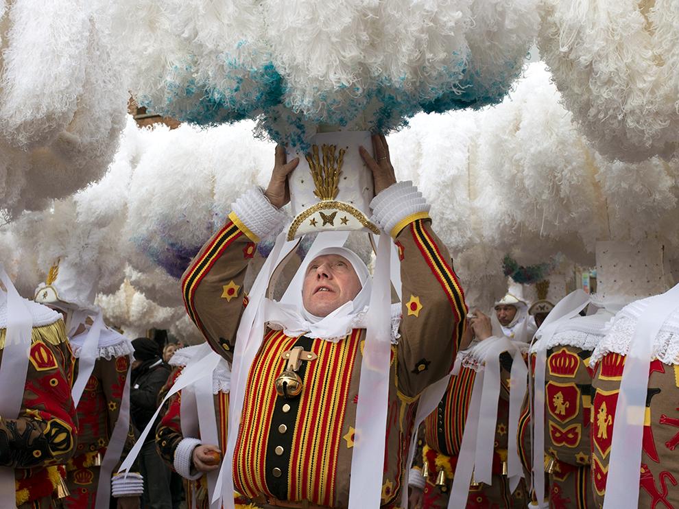 Карнавал в Бинше, Бельгия