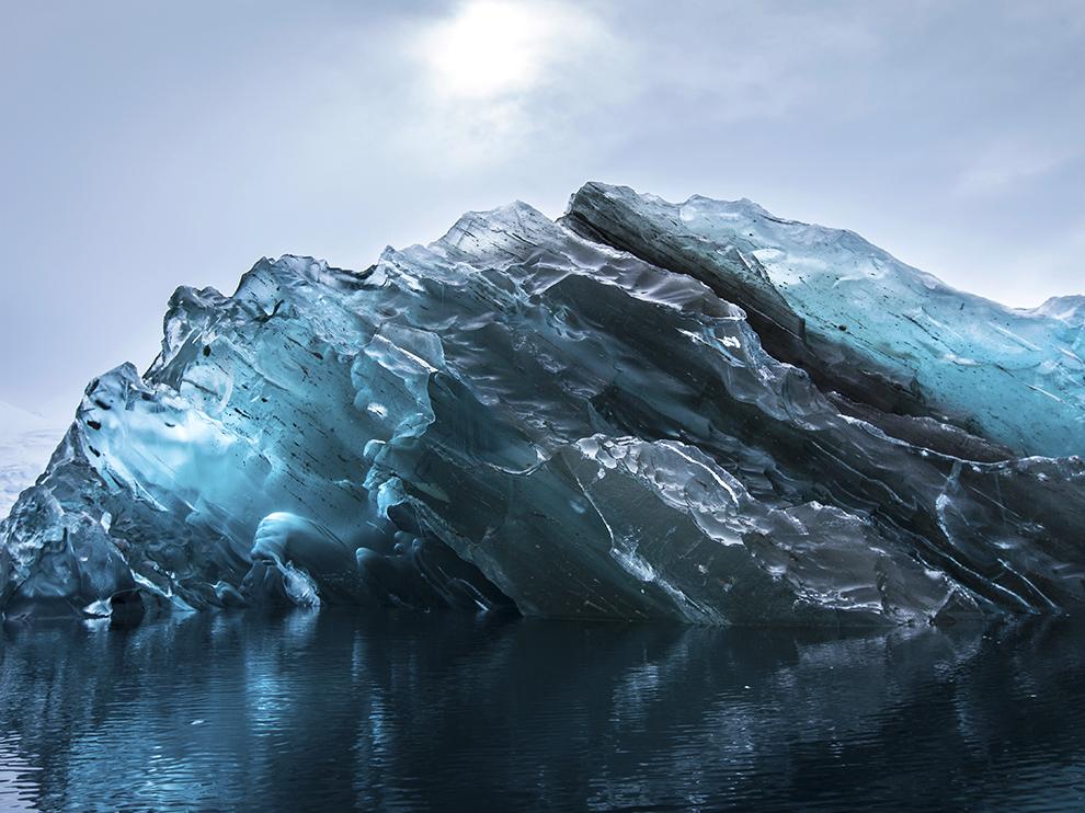 Обратная сторона Айсберга в Антарктике