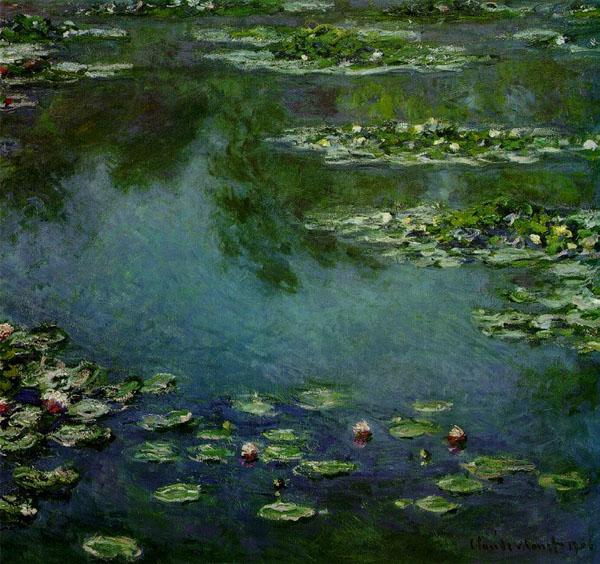 «Водяные лилии» (1916г.)